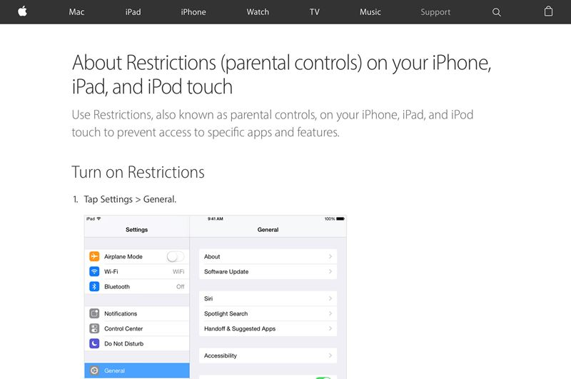 How to Properly Set Up a Child's iPhone or iPad